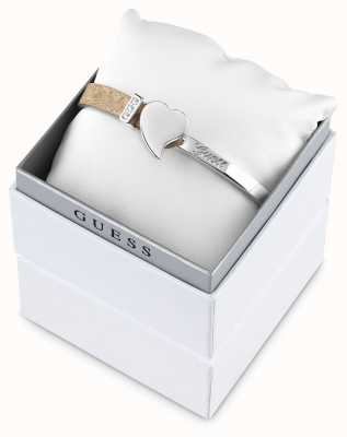 Guess Womens Exotic Attitude Stainless Steel Bangle UBS61028