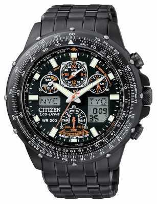 Citizen Radio Controlled Skyhawk Black Eagle JY0005-50E