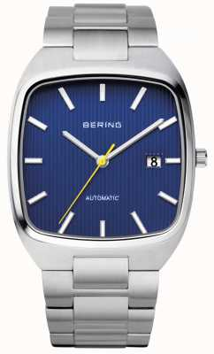 Bering Mens Automatic Stainless Steel Blue Dial 13538-707