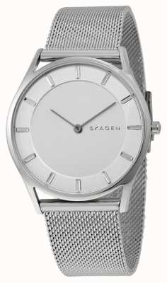 Skagen Womans Silver Metal Strap Silver Dial SKW2342