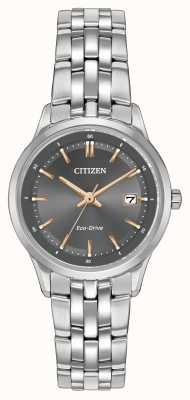 Citizen Ladies Stainless Steel Watch  Ex-Display EW2400-58H Ex-Display