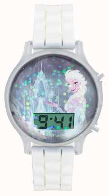 Disney Frozen Frozen Snow Globe Digital White Strap FZN3649