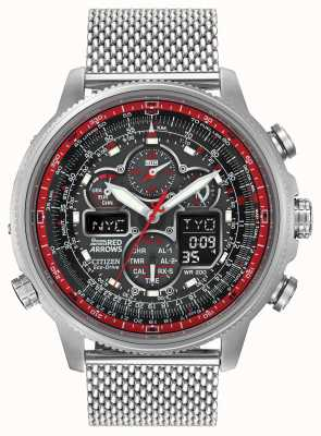 Citizen Limited Edition Red Arrows Navihawk A.T. Mesh Bracelet JY8039-54E