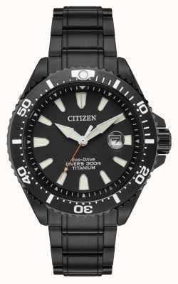 Citizen Royal Marines Limited Edition 300m Ion Plated Titanium BN0147-57E