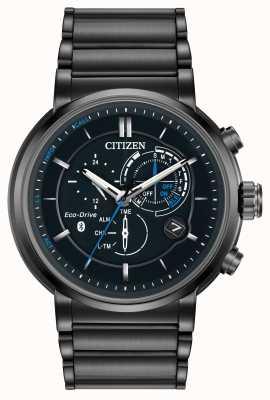 Citizen Mens Proximity Bluetooth Smartwatch Eco-Drive IP Plated BZ1005-51E