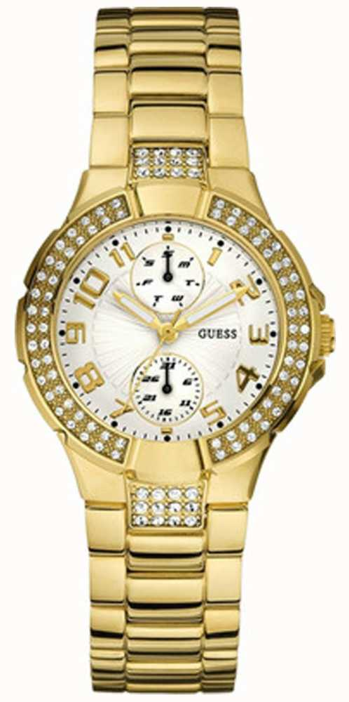 Guess Mini Prism Gold PVD Plated W15072L1 - First Class ...