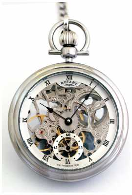Rotary Mens Stainless steel Pocket Watch MP00723/21