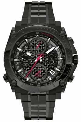 Bulova Mens Precisionist Chronograph Black 98G257