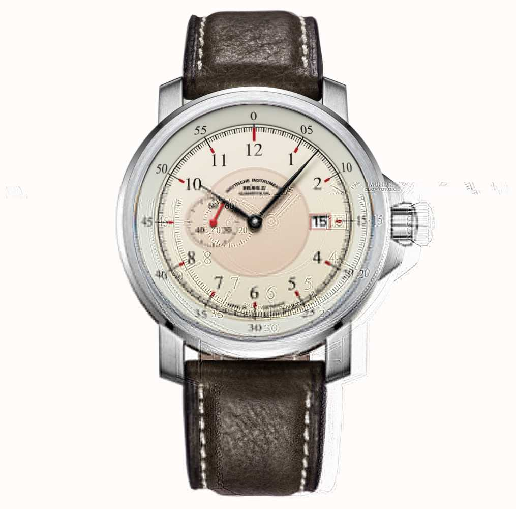Muhle glashutte m29 classic kleine sekunde automatic watch m1 25 67 lb first class watches for Muhle watches