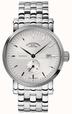 Muhle Glashutte Teutonia II Kleine Sekunde Stainless Steel Band Silver Dial M1-33-45-MB