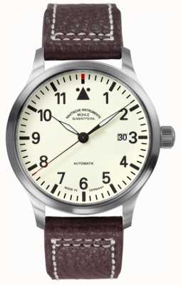 Muhle Glashutte Terrasport II Leather Band Cream Dial M1-37-47-LB