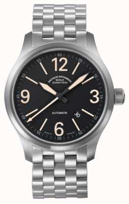 Muhle Glashutte New Terranaut II Trail (stainless steel) Stainless Steel  Band Black  Dial M1-40-34/1-MB