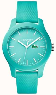 Lacoste Womens 12.12 Turquoise Silicone 2000958