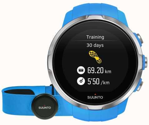 Suunto Spartan Sport Blue (HR Belt) SS022652000