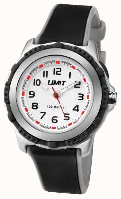Limit Kids Active Black Resin Strap White Dial 5597.69