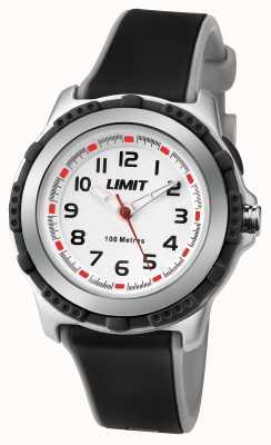 Limit Kid's Active Black Resin Strap White Dial 5597.69