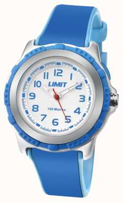 Limit Kids Active Blue Resin Strap White Dial 5600.24