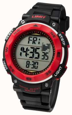 Limit Mens Sport Watch Black Strap 5486.01
