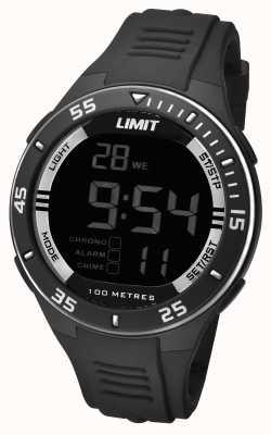 Limit Mens Black Strap Digital Dial 5571.24