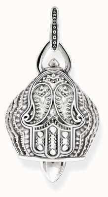 Thomas Sabo Womans Sterling Silver Paisley Bell Pendant PE735-637-12