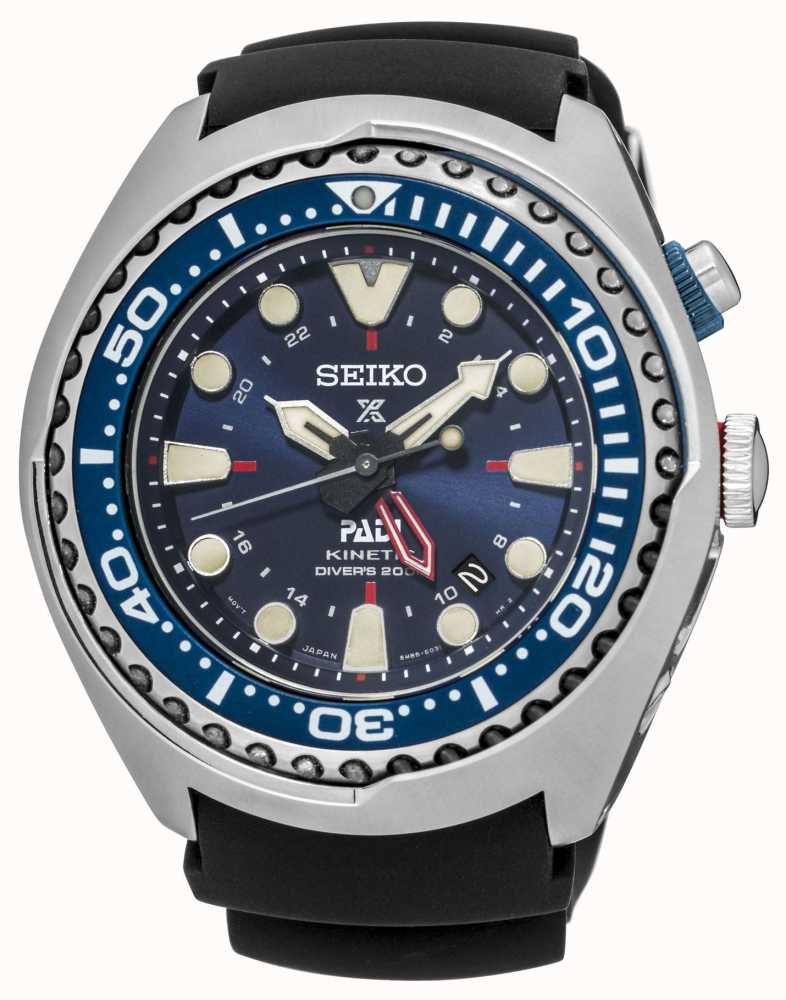 Seiko Prospex PADI Certified Kinetic GMT Special Edition SUN065P1 ... 19d3e7566d