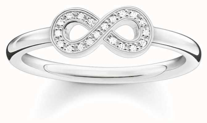 Thomas Sabo Sterling Silver Infinity Ring Size 56 D_TR0001-725-14-56