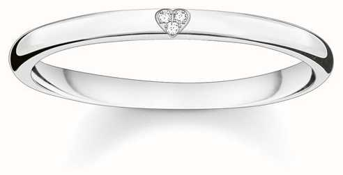 Thomas Sabo Sterling Silver Ring 56 D_TR0016-725-14-56