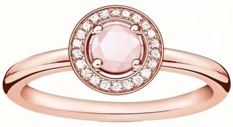 Thomas Sabo Light of Luna Rose Gold Plated Ring D_TR0009-925-9-54