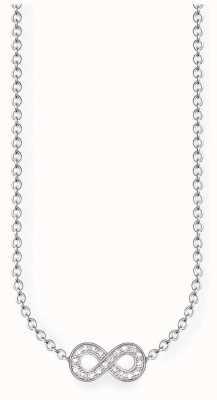 Thomas Sabo Sterling Silver Infinity Necklace D_KE0001-725-14-L45V