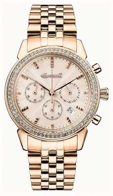 Ingersoll Womens Chronicle The Gem Rose Gold Dial I03904