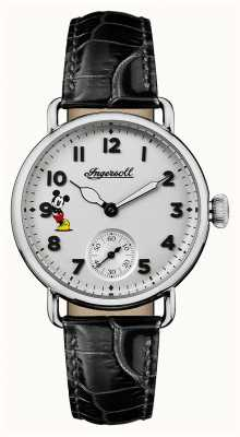 Disney By Ingersoll Women Union The Trenton Disney Limited Edition Black Leather ID00101