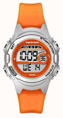 Timex Childrens Marathon Alarm Chronograph Orange TW5K96800