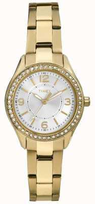 Timex Womans Gold Miami Mini TW2P80100
