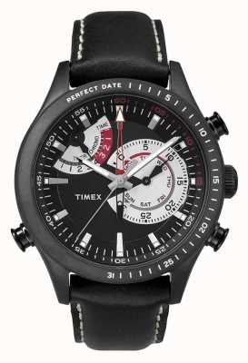 Timex Mens Chronograph Timer Leather Strap TW2P72600