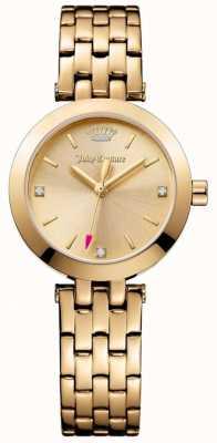 Juicy Couture Ladies Cali Gold Stainless Steel Bracelet 1901459