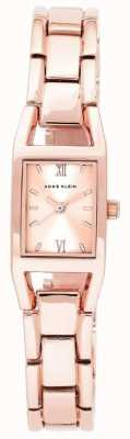 Anne Klein Womens Rose Gold Tone Stainless Steel Rose Gold Dial 10/N6418RGRG