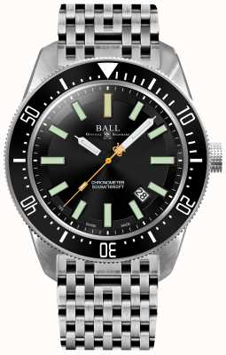 Ball Watch Company Mens Engineer Master II SkinDiver II Automatic Chronometer DM3108A-SCJ-BK