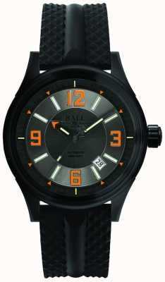 Ball Watch Company Fireman Racer DLC Automatic Rubber Strap Grey Dial NM3098C-P1J-GYOR