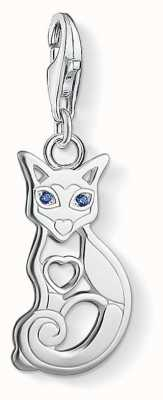 "Thomas Sabo ""CAT"" Charm Pendant 1396-009-32"