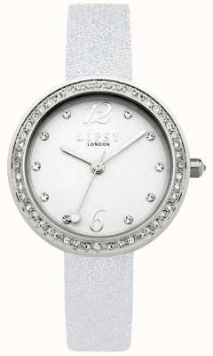 Lipsy Womans Silver Strap White Dial LP471