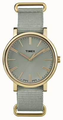 Timex Org Classic Rnd Sage Nylon Strap TW2P88500