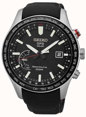 Seiko Sportura GPS Perpetual Solar Chronograph SSF007J1