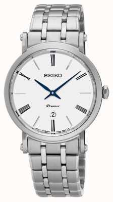 Seiko Womens Premier Stainless Steel Sapphire Glass SXB429P1
