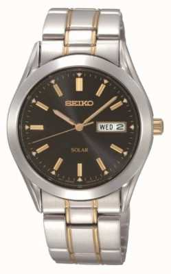 Seiko Mens Solar Bracelet Watch SNE047P9