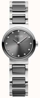 Bering Womans Black Classic Slim Ceramic 10725-783