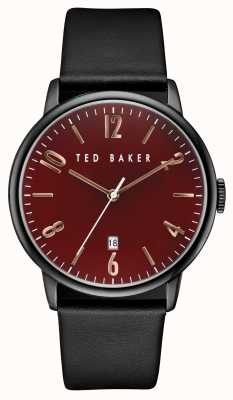 Ted Baker Mens Black Iron Plated Case TE10030754
