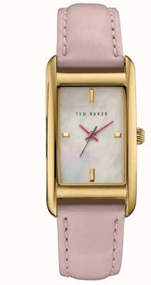 Ted Baker Womans Rose Gold Case White Dial TE10030751
