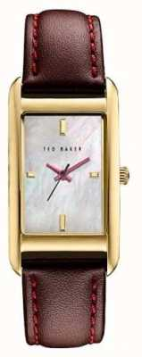 Ted Baker Womans Gold Case White Dial TE10030753