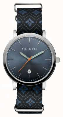 Ted Baker Mens Stainless Steel Case Blue TE10030767