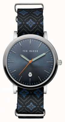 Ted Baker Mens Stainless Steel Case Blue TE10030767